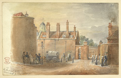 Woolwich Arsenal Gates, 1825